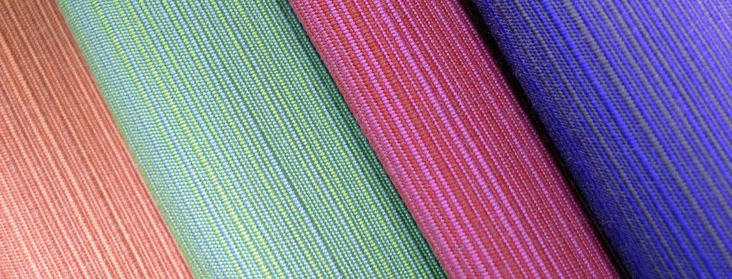 Sunbrella Dupione is the most popular furniture fabric weave!  Not hard to believe, it is silky and comfortable and comes in cotton candy colors.