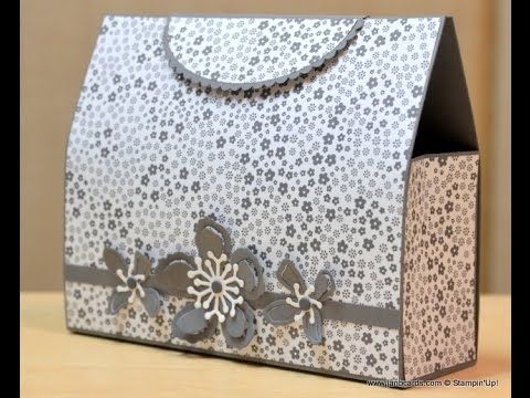 no.198 - Kelly's Clutch Bag - JanB UK Stampin' Up! Demonstrator Independent