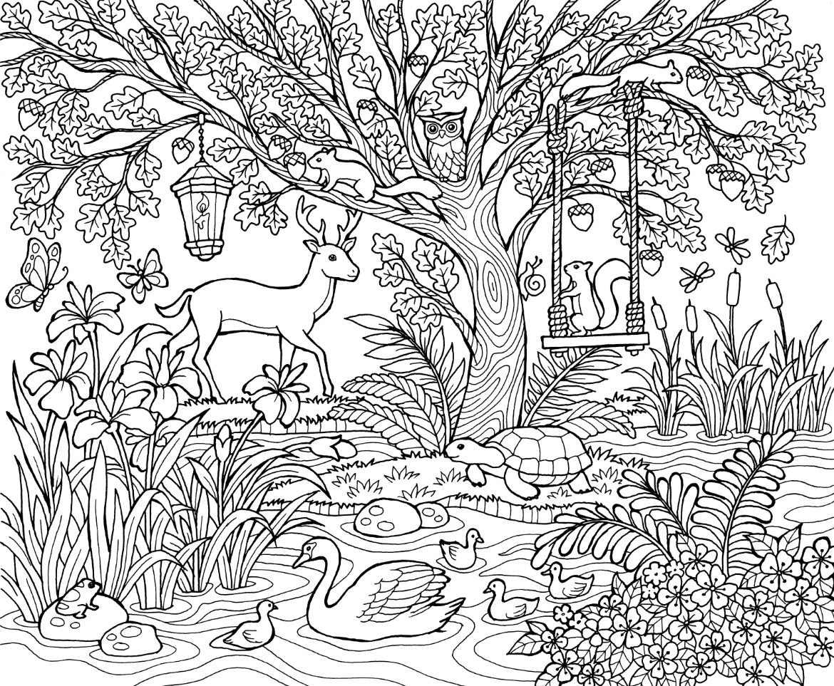 Blissful Scenes Image 1 Mandala Coloring Pages Mandala Coloring Coloring Books