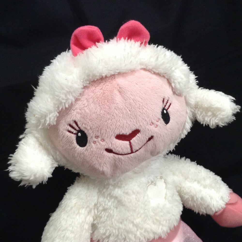 Disney Doc McStuffins 15 Lambie Talking Plush Stuffed