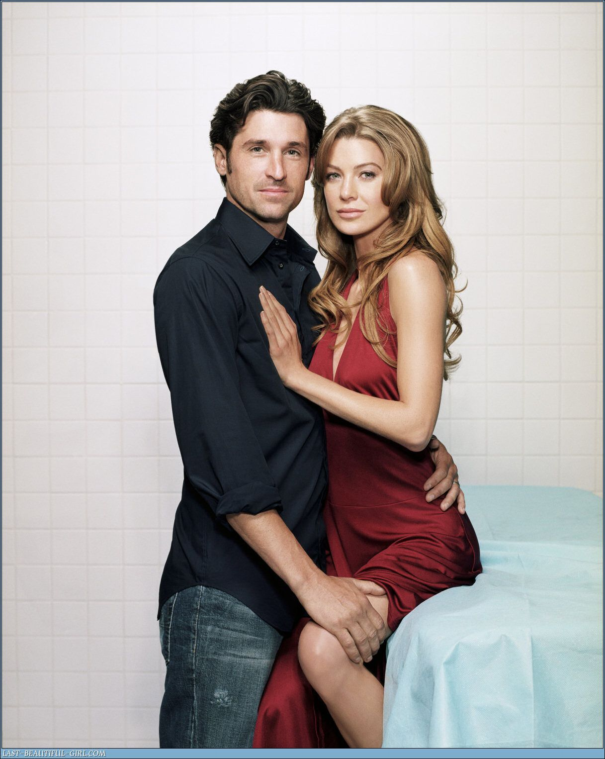 Ellen Pompeo And Patrick Dempsey Greys Anatomy Actors Actresses