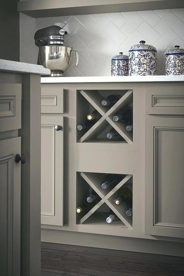 Best Kitchen Wine Cabinet Wine Storage Cabinet In Stone Gray 400 x 300