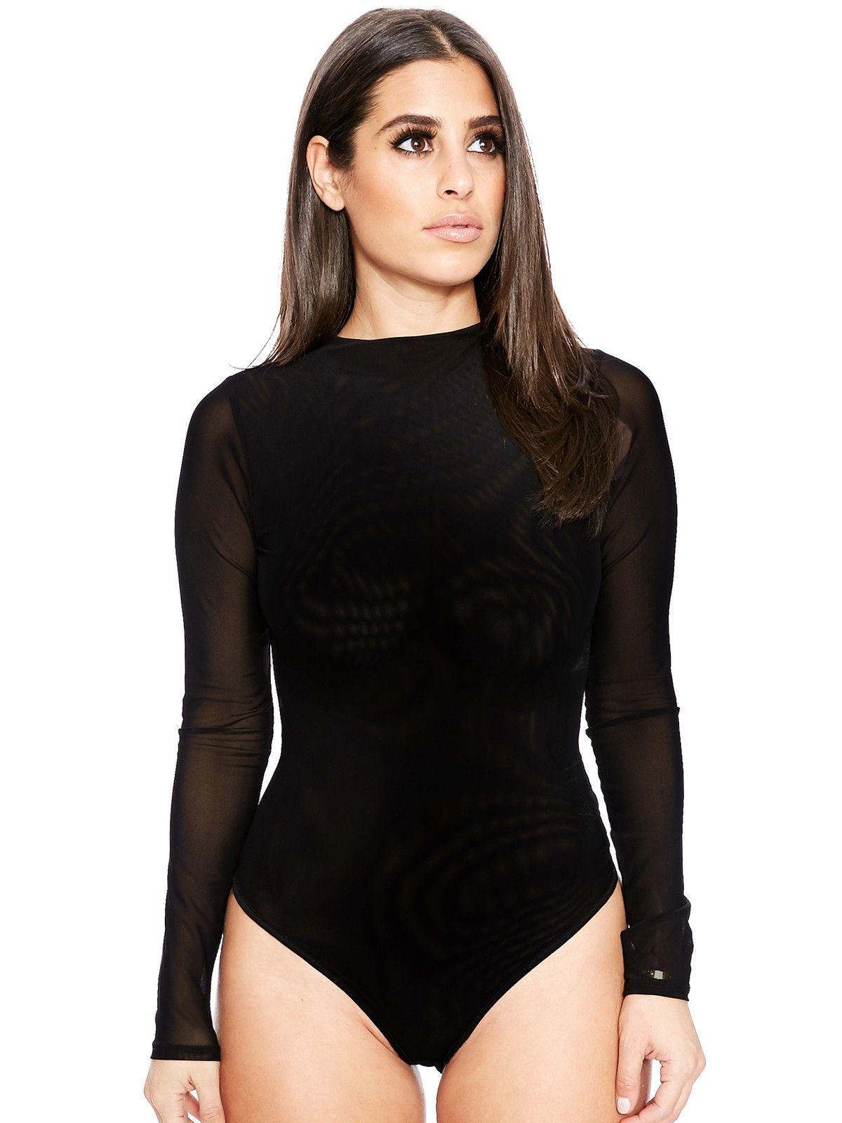The NW Mesh Bodysuit Naked Wardrobe S T Y L E