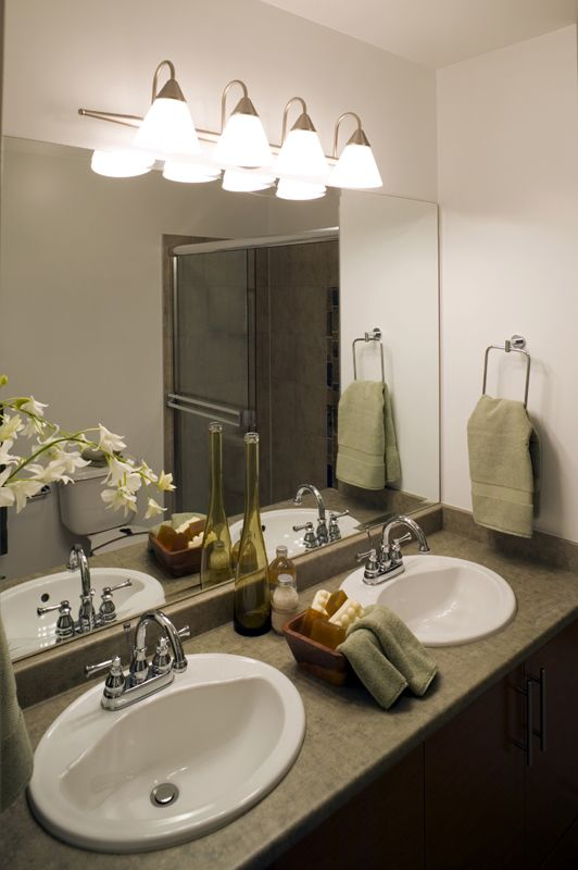 Vanity Lighting For A Bathroom Sink Replace The Incandescent