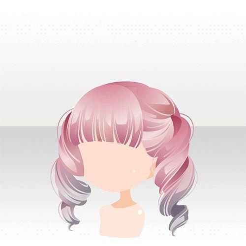 浪漫オリヅル診療所games アットゲームズ Anime Hair Pink Curly - Anime hairstyle pinterest