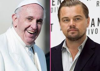 Leonardo Dicaprio Chilling With The Pope