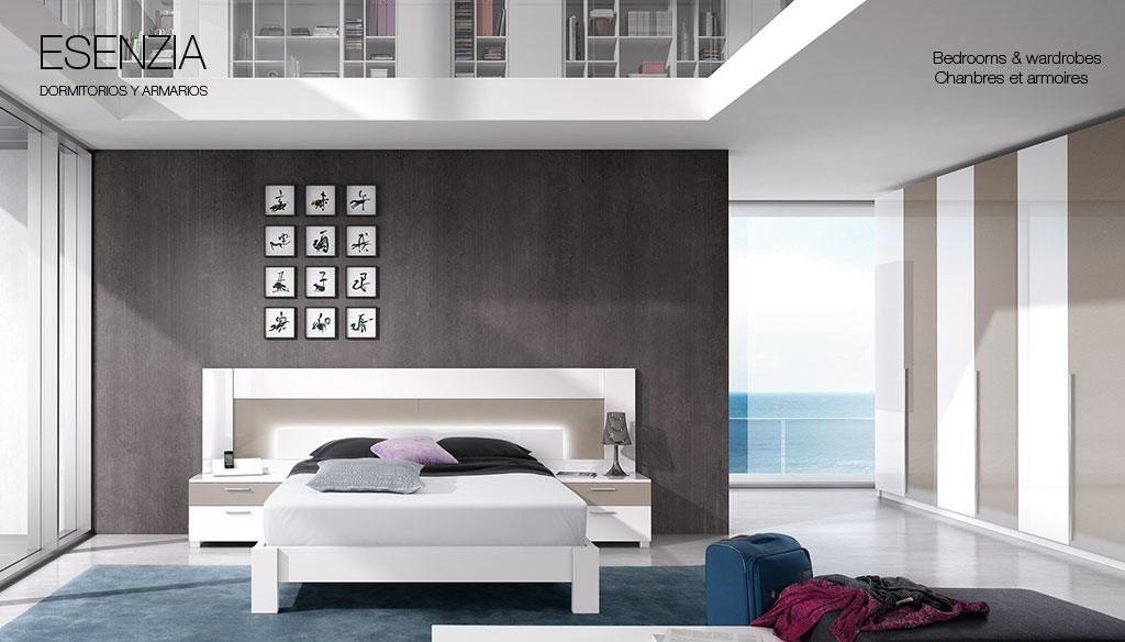 El cabecero veneto al disponer de iluminaci n led incorporada nos aporta un valor a adido al - Iluminacion dormitorios modernos ...