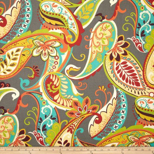 Amazon.com: Covington Whimsy Paisley Mardi Gras Fabric: Arts, Crafts & Sewing