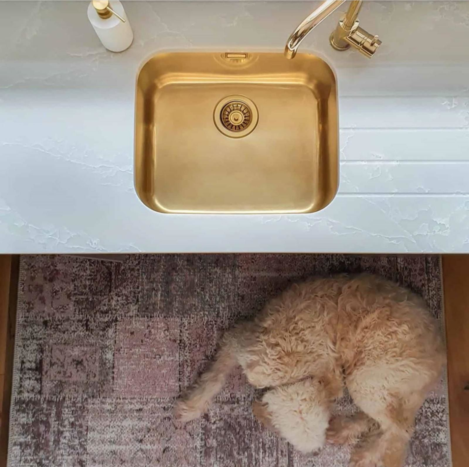 Gold undermount sink in 2020 Sink, Malm, Ikea malm drawers