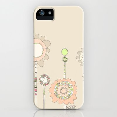 Little Daisies iPhone Case by maddox and klaus -