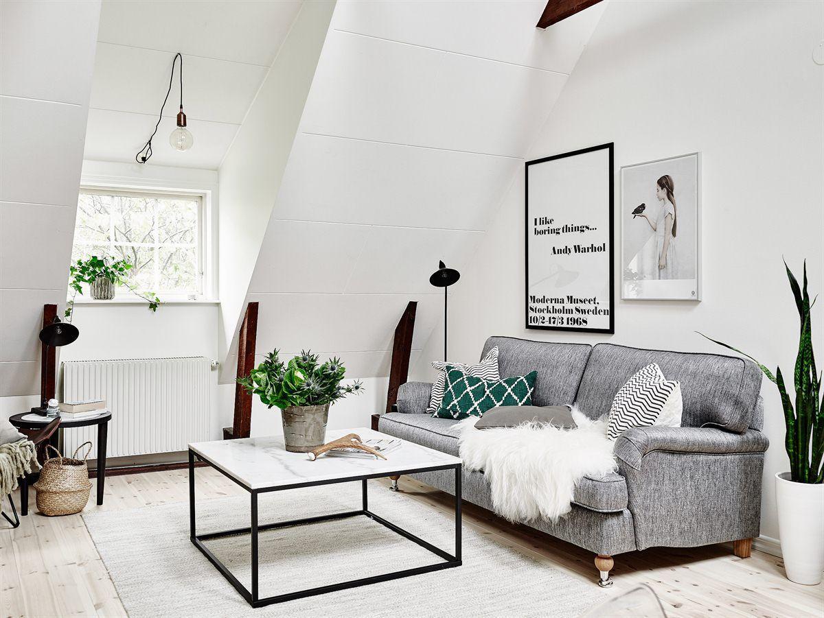 SOFAS IDEAS | The attic of Jokiniementie, Planete Deco  | http://www.bocadolobo.com/  #modernsofa #sofaideas