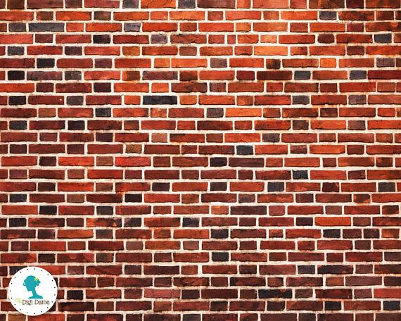 Dollhouse Printable Floor Wall A3 Size Instant Download By The Digi Dame Dollhouse Digidamedolls Etsy Com Pictures Of Bricks Brick Wall Brick