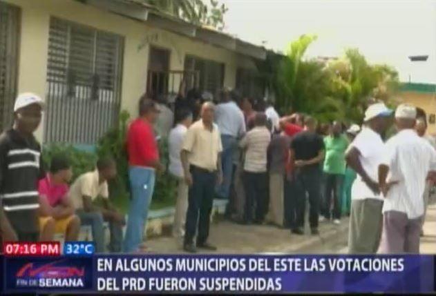 Elecciones Del PRD Suspendidas En Muchisimos Municipios #Video