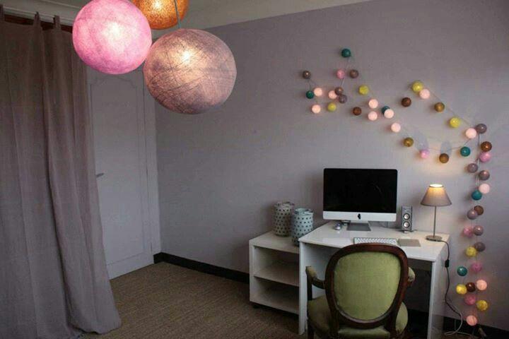 Maison à vendre. Sophie Ferjani Guirlande et boules => la ...