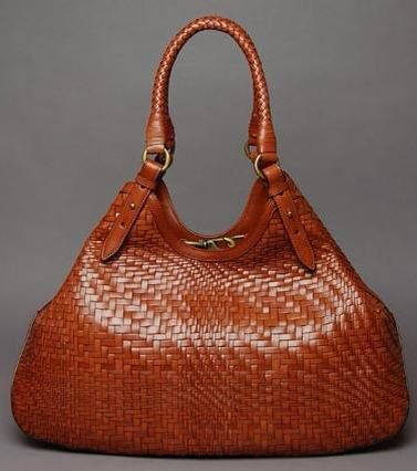Braided leather Cole Haan bag ❤️
