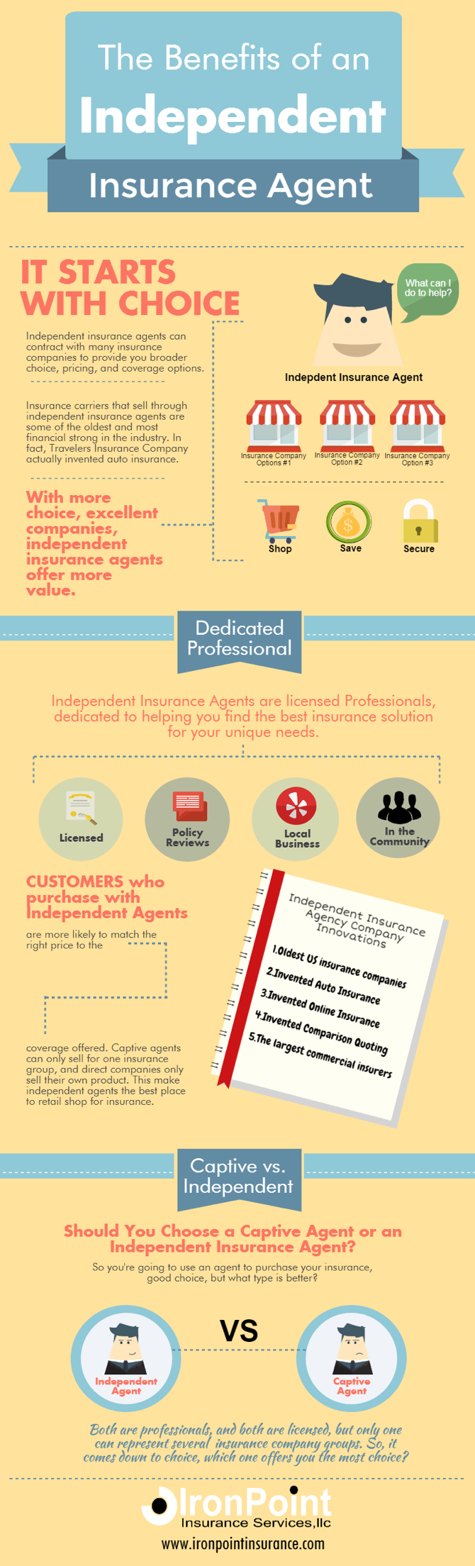 Benefits Of An Independent Insurance Agent Independent