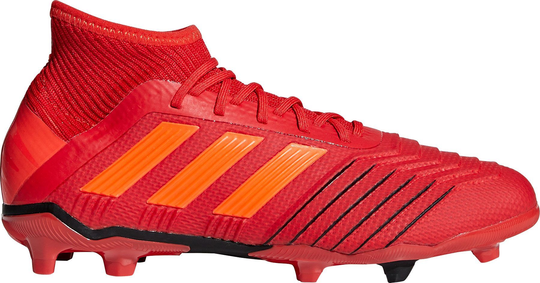 the latest 937f0 a992a adidas Kids  Predator 19.1 FG Soccer Cleats, Red