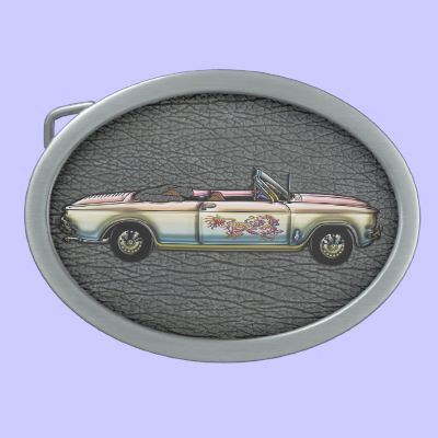 Vintage Custom 1964 Chevrolet Corvair 700 Converti Belt Buckle Zazzle Com Chevrolet Corvair Belt Buckles Chevrolet