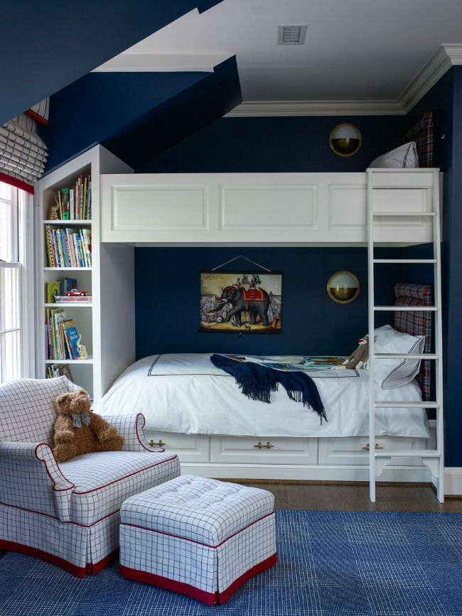 House Tour Eastover Boys Bedroom Decor Boy Room Bunk Beds Built In