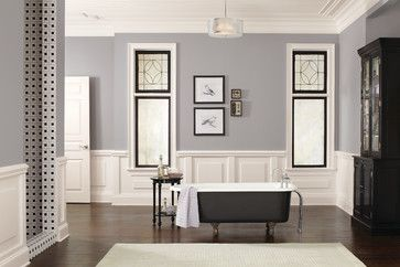Sherwin Williams Traditional Bathroom Passive Dining Room Sw7064