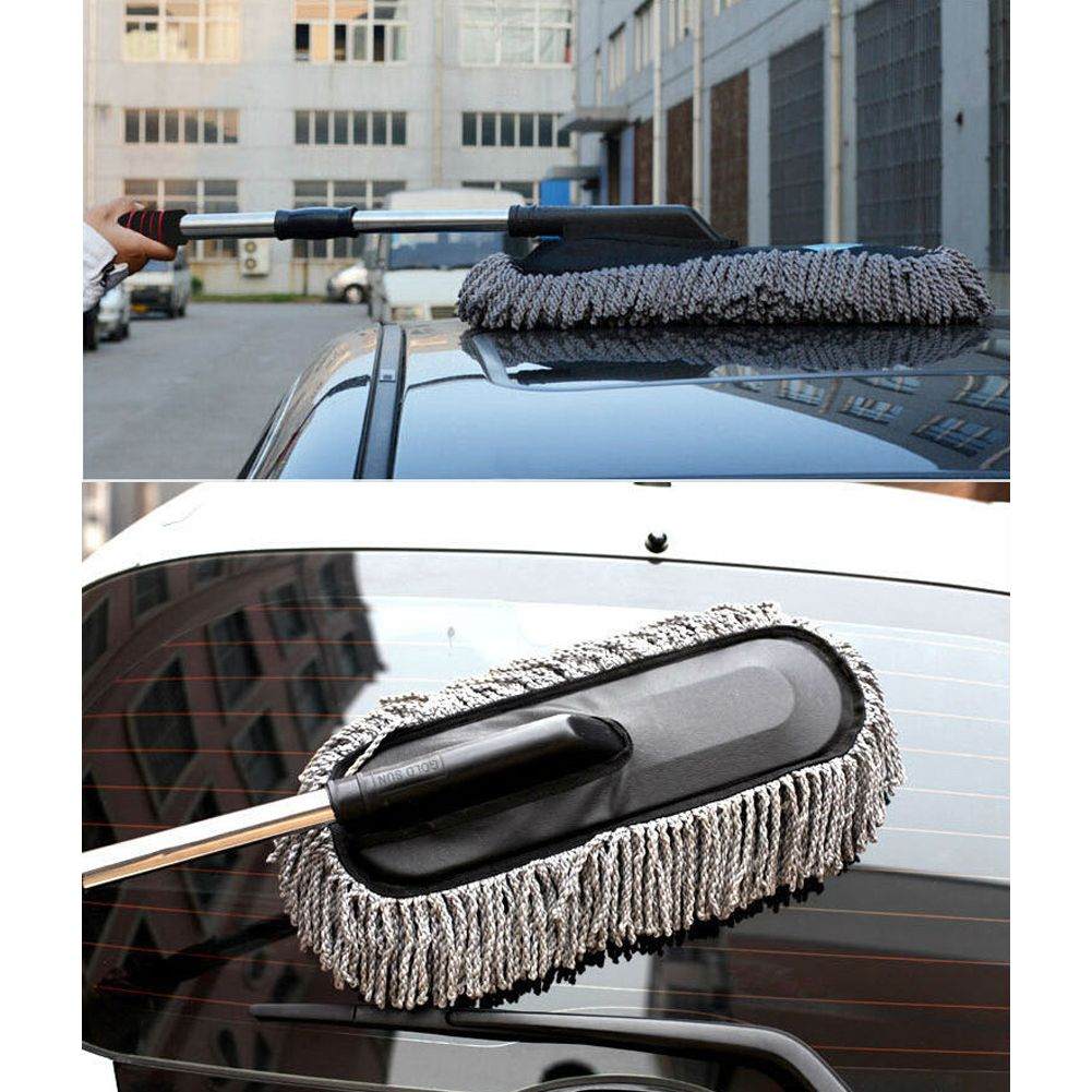 Microfiber Car Duster Cleaning Cloths Car Care Clean Brush