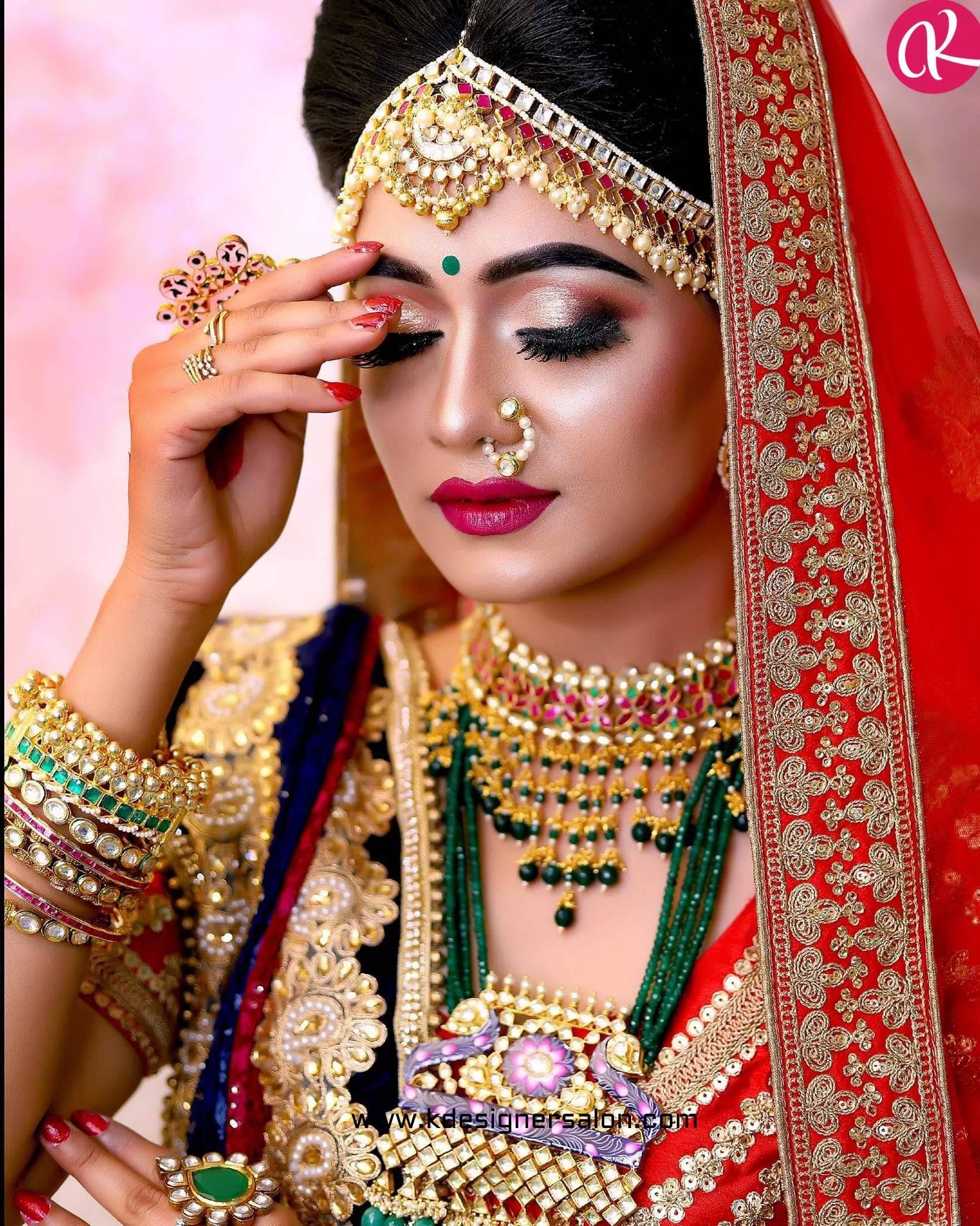 Bridal Makeup Artist in Delhi in 2020 Bridal makeup