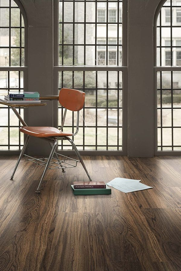 Level Set luxury vinyl tile looks beautiful in education