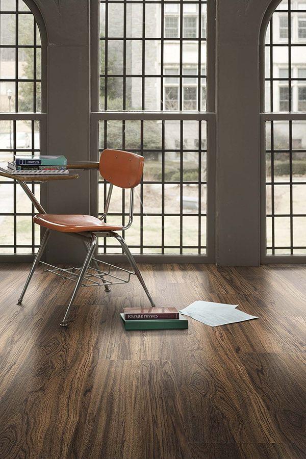 Level Set luxury vinyl tile looks beautiful in education