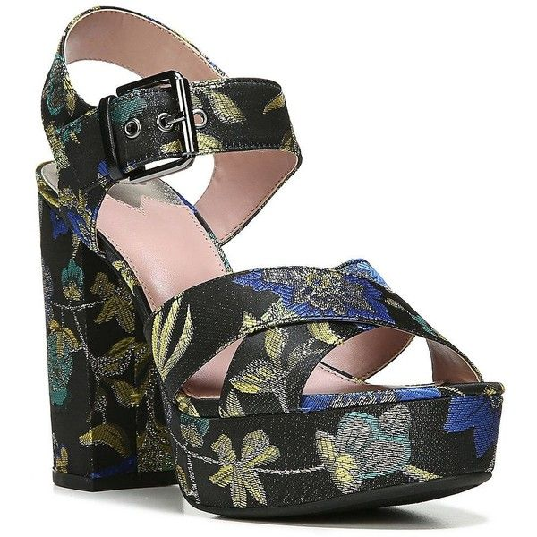 bee24ae06 Circus by Sam Edelman Women s Maria Textile Platform Sandals ( 80) ❤ liked  on Polyvore featuring shoes