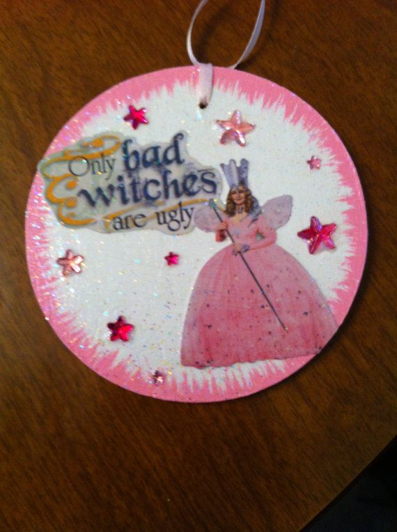Wizard of Oz Glenda the Good Witch Christmas ornament or ...