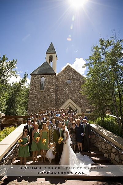 Beaver Creek Wedding At Chapel And Allies Cabin Photographed By IN Photography