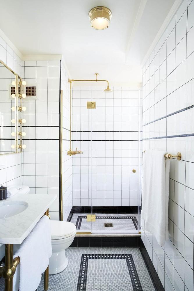 Jet Set The Ludlow Hotel Bad Inspiration Badezimmer Innenausstattung Und Badezimmer Design
