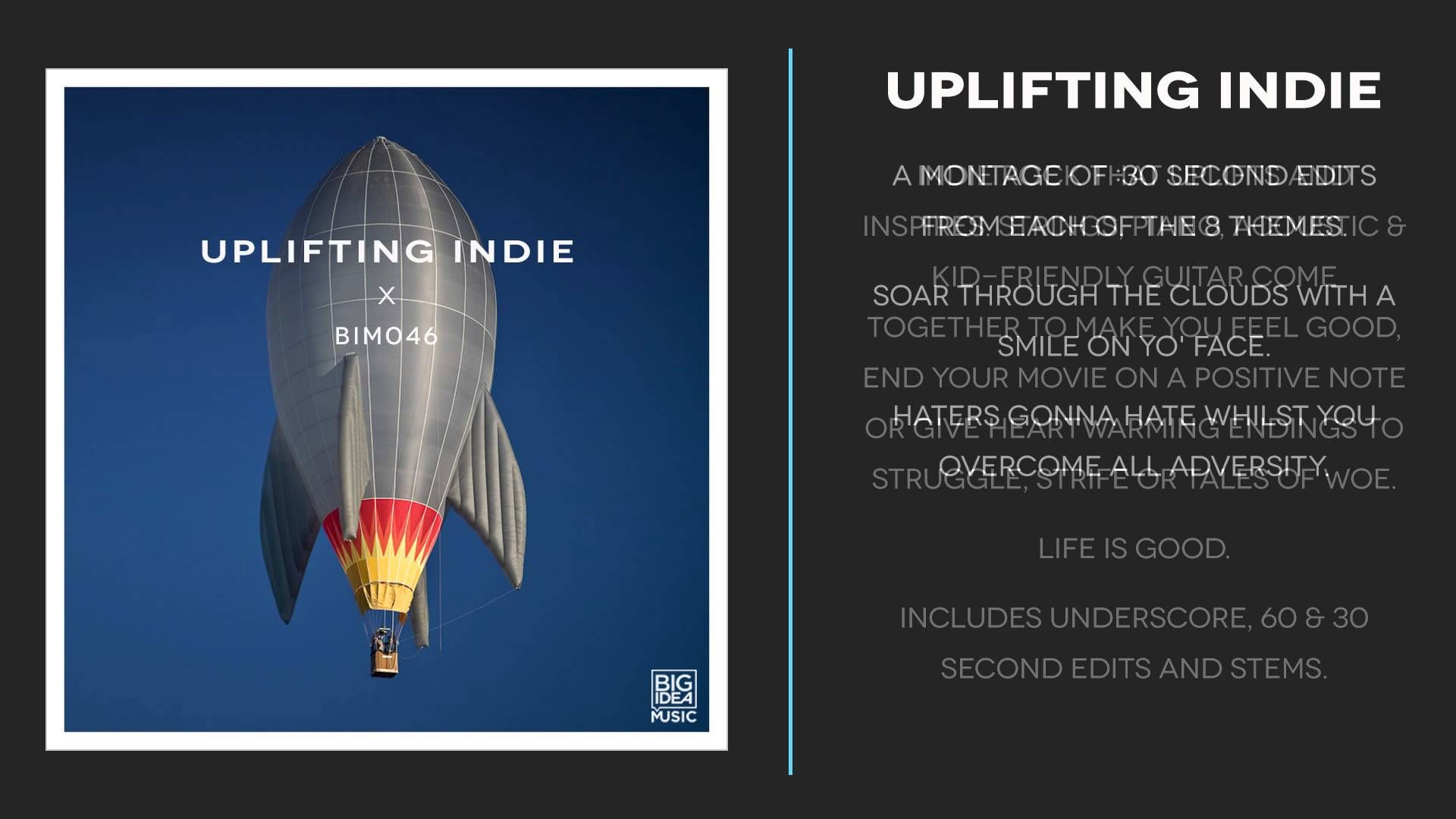 BIM046 UpliftingIndie  Great album, great catalog! http://www.milesofmusik.com/music-albums/600211-1 046 will be up soon in the coming days.