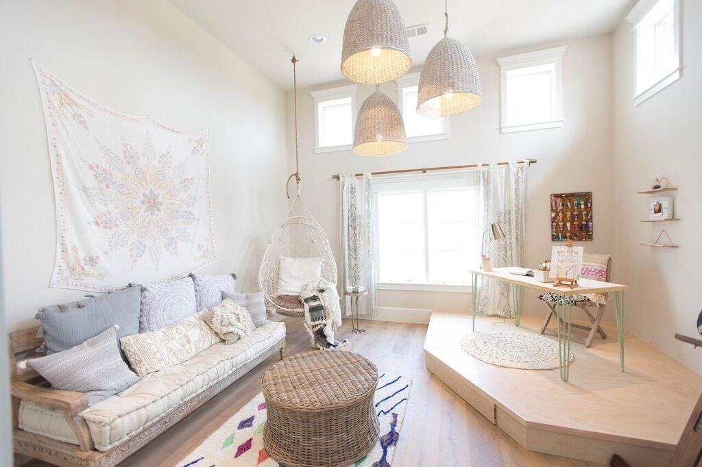 Boho art studio idea urbanology designs simple bedroom
