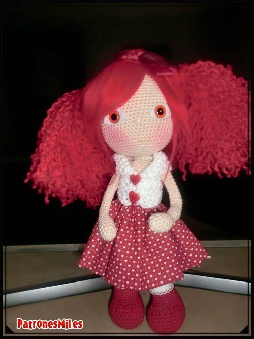 Muñeca amigurumi Naiara   Amigurumi   Pinterest   Muñeca amigurumi ...