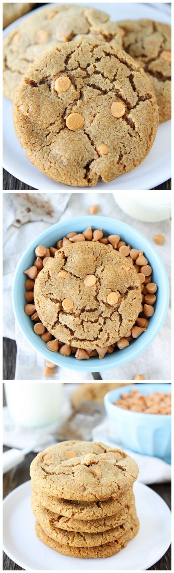 Brown Sugar Butterscotch Cookie Recipe on twopeasandtheirpo... These cookies are a real treat!