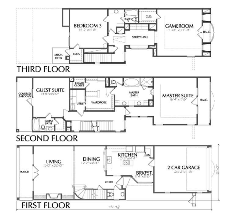 Eileen Grayu0027s Townhome Plan E1027 A exhibition design Pinterest