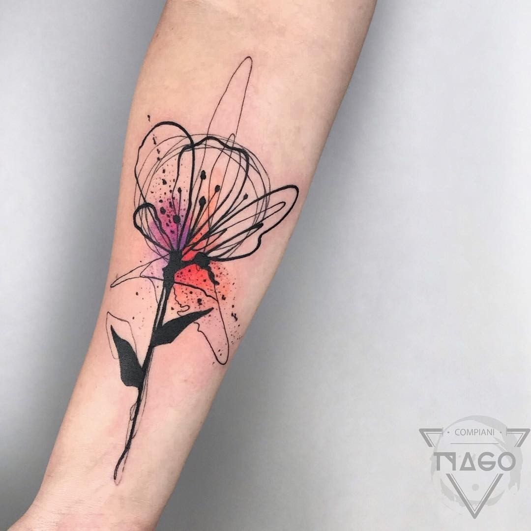 75 Unique Tattoo Design Ideas For Girls To Love Healthlivings Part 16 Abstract Flower Tattoos Tattoos Watercolor Tattoo Shoulder