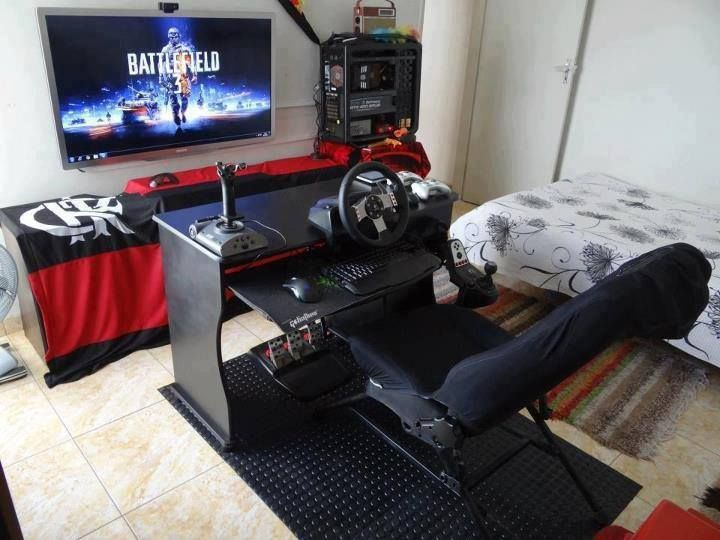 Gaming Bedroom Alluring 50 Best Setup Of Video Game Room Ideas A Gamer's Guide  Video Decorating Design