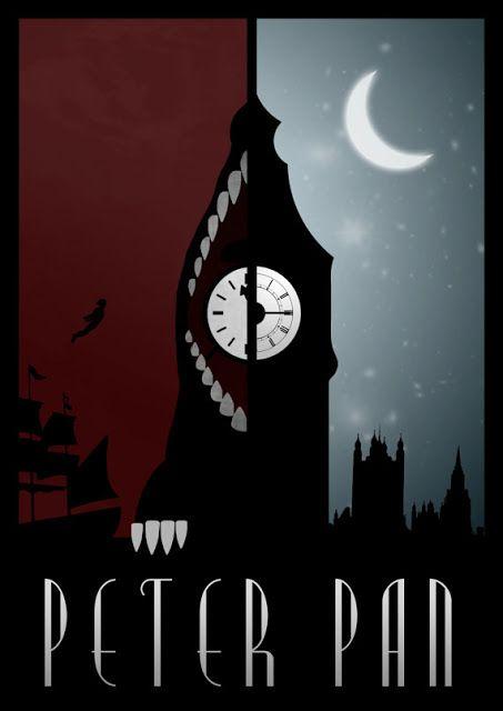 Piter Pan by Rowan Stocks-Moore #art #design