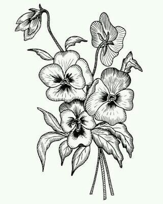 Pin by Zareen Ahmed on Art Pinterest Embroidery, Patterns and - copy free coloring pages of hibiscus flowers