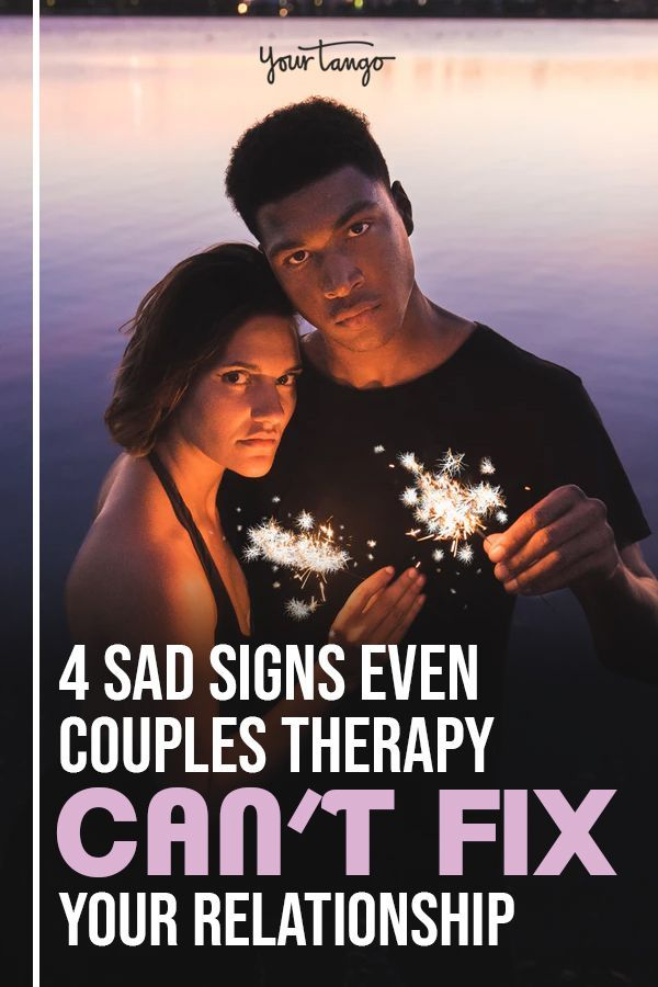 4 Sad Signs Even Couples Therapy Can't Fix Your Relationship