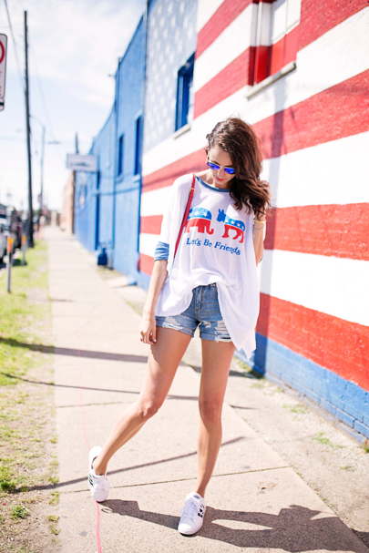 let's be friends #politicalstyle @wildfoxcouture