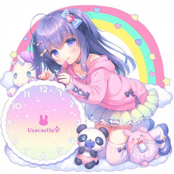 Anime Pink Cute Girl Art By Mani Usashiro On Pixiv Rainbow Maniusashiro Anime Pastelart Pastelpink Soft Doll Artwork Illustrati Anime Kawaii Anime Art