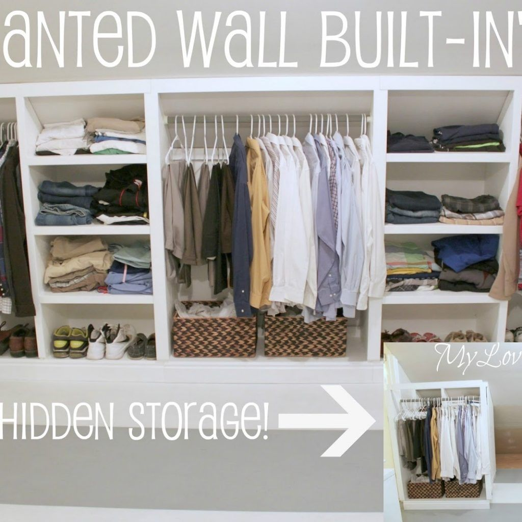 Wall Cabinet For Concealed Storage