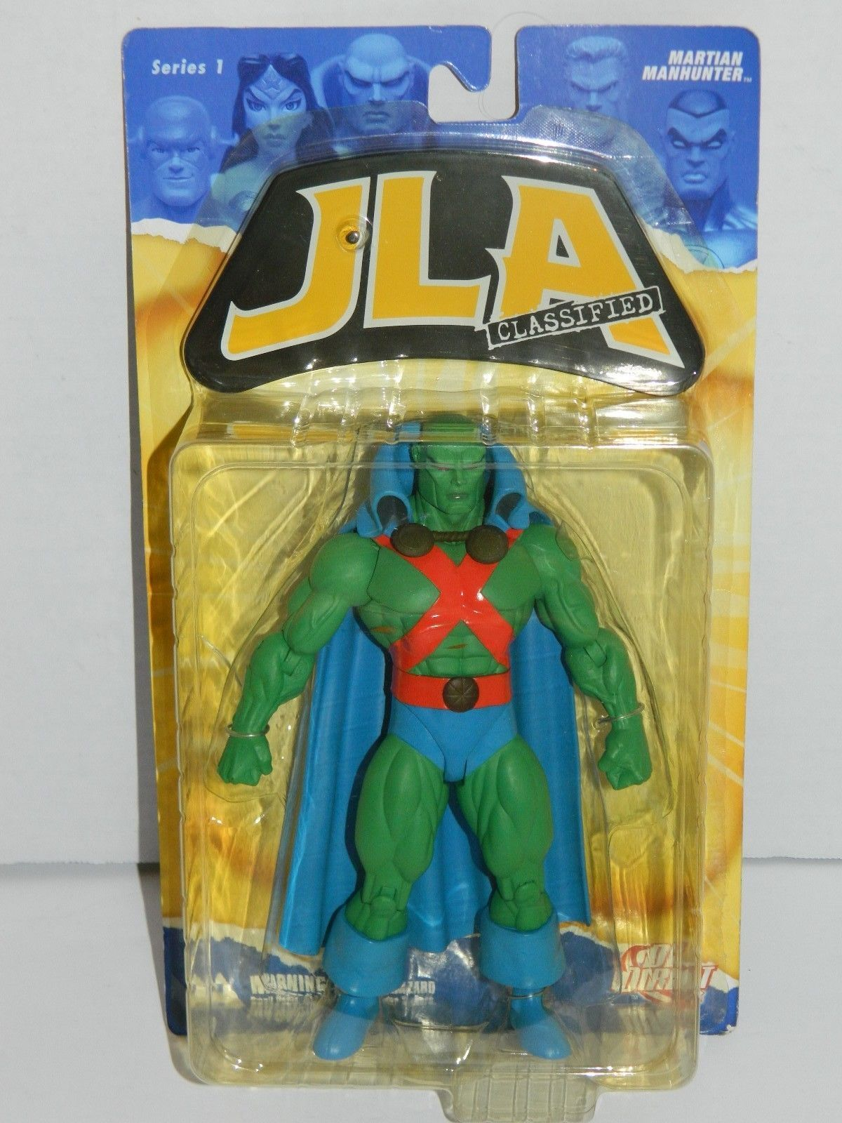 Justice League Alex Ross Series 5 Translucent Martian Manhunter Action Figure