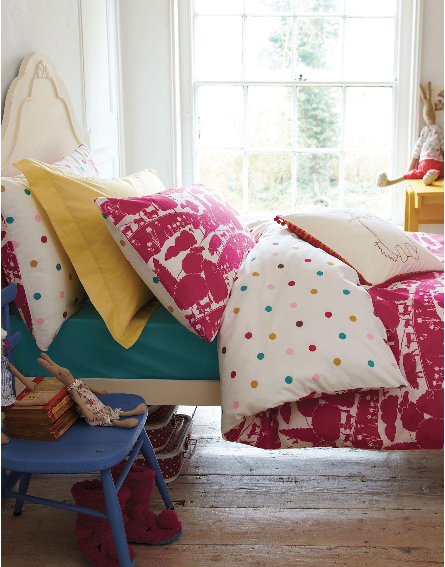 Jnr duvetpiggy girls piggy farm duvet cover childrenus rooms