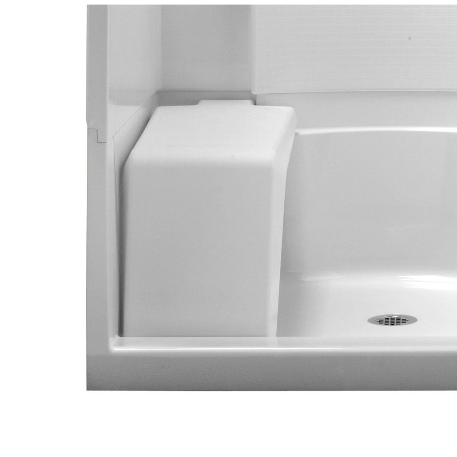 Lowes Showers With Seats.Sterling White Removable Shower Seat Home Bathroom
