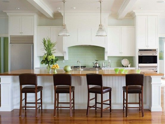kind of obsessed with islands in kitchens For the Home Pinterest