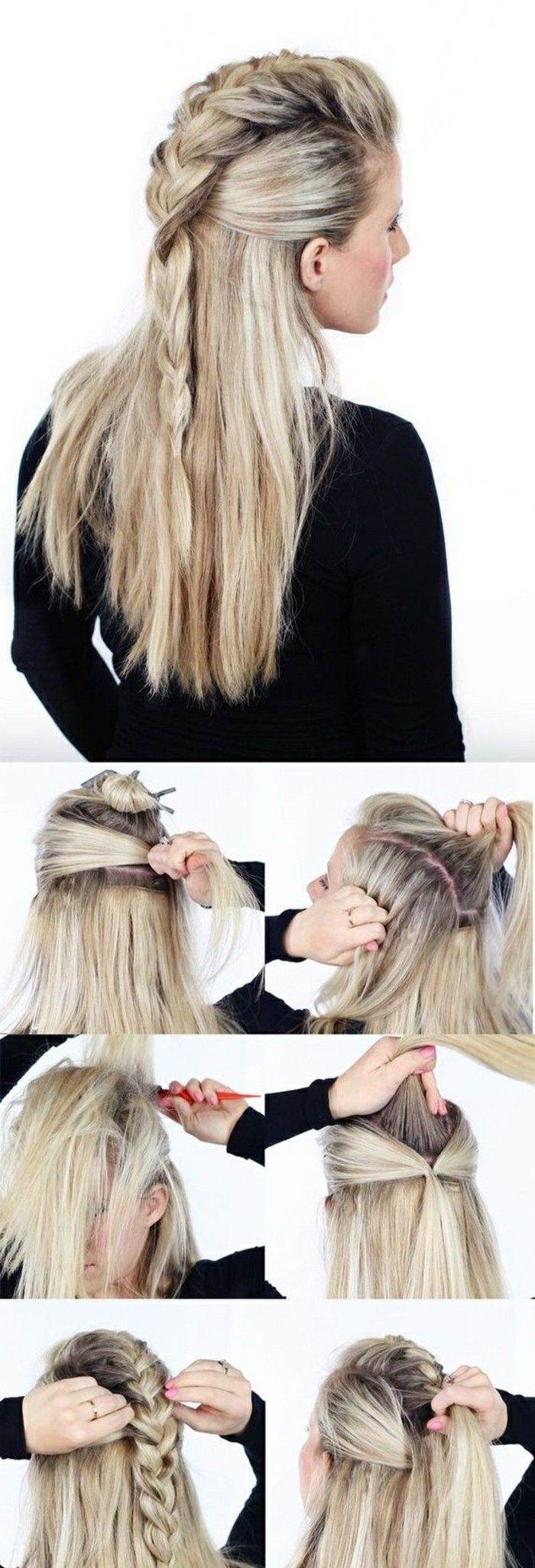 ? 1001 + ideas for beautiful hairstyles + DIY instructions